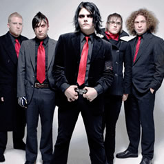 Partituras de musicas gratis de My Chemical Romance